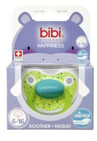 Bibi - Soother Silicone - Lovely Dots - 6 - 16 Months